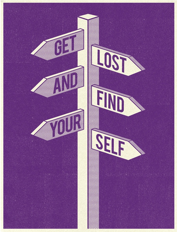 get lost and find yourself